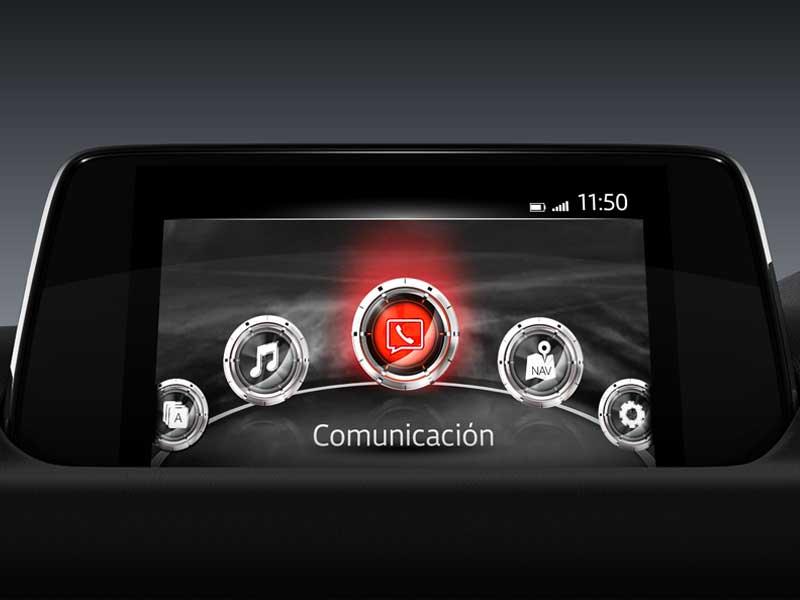 Pantalla digital Mazda