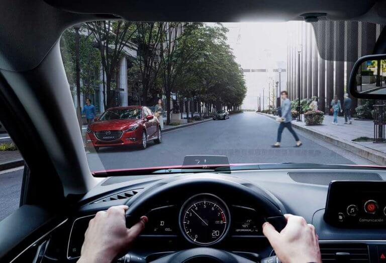 Mazda 3 tablero