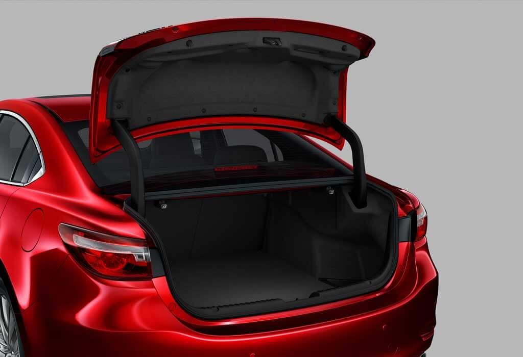 Mazda 6 baúl