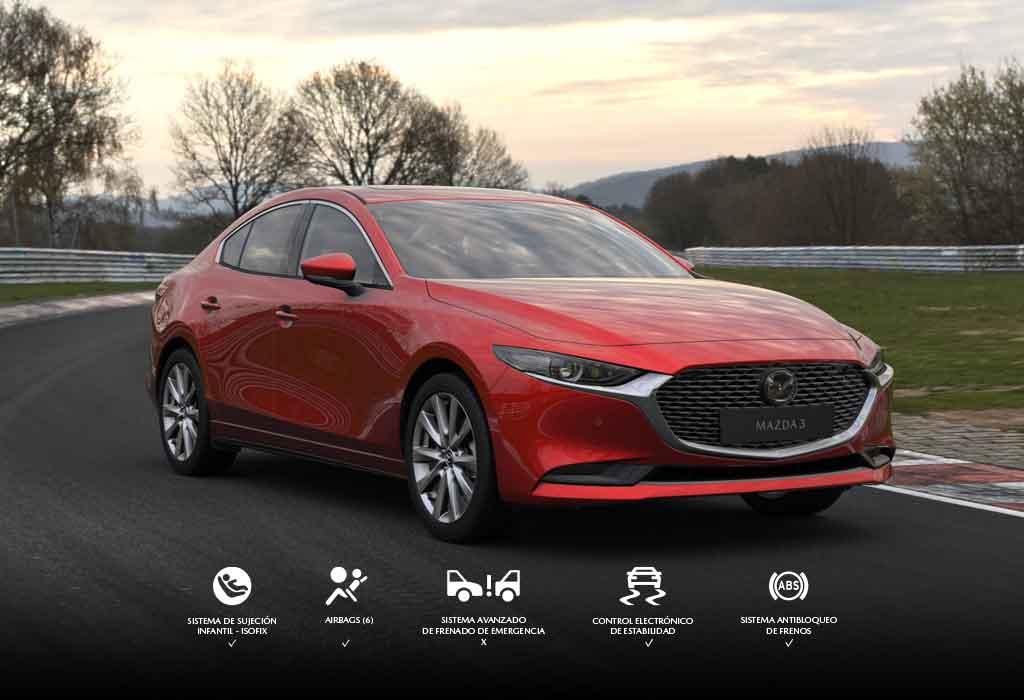 Exterior Mazda 3 Nueva Generación
