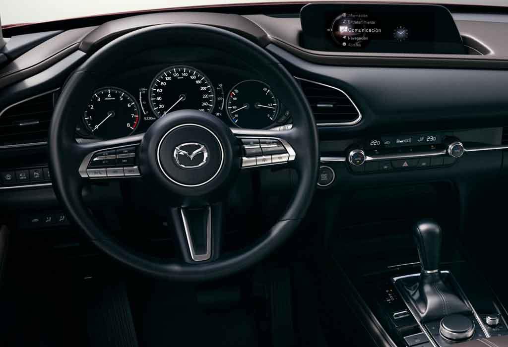 Nueva Mazda CX-30 Salpicadero