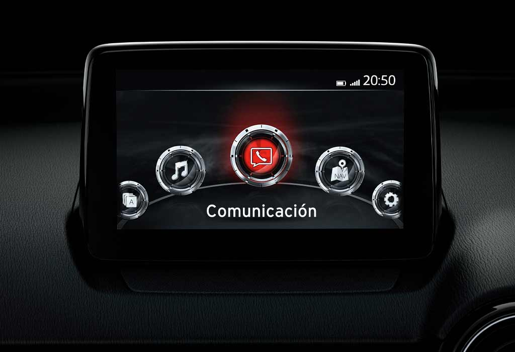Mazda 2 Sport salpicadero